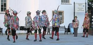 Welsh Morris Dancers