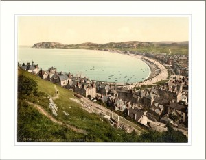 From the Great Ormes Head Llandudno Wales