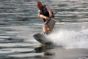 Wakeboarding - one of GBB's main events